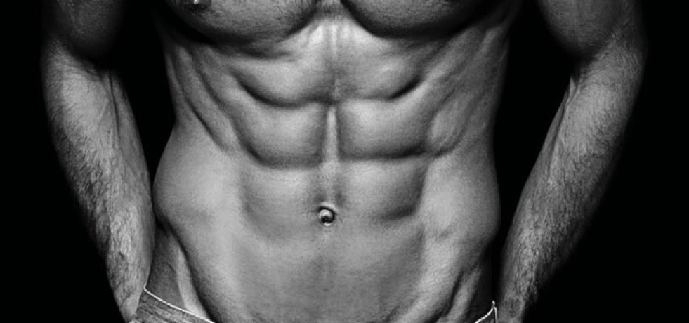 Image of a male with six-pack abs